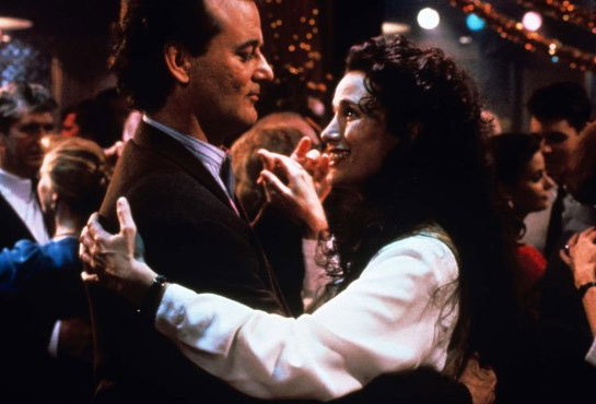 Billy Murray and Andie MacDowell
